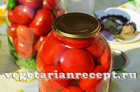 консервирование помидор