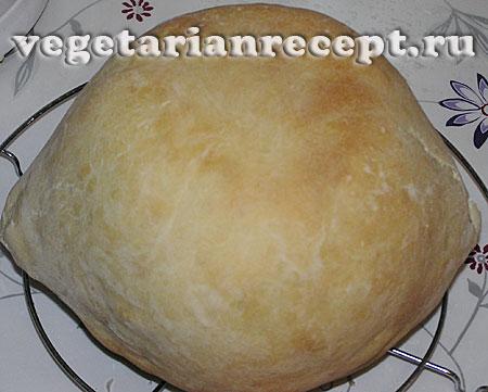 Хлебный горшочек на форме