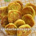 Жареные картофельные рулеты - алу патры