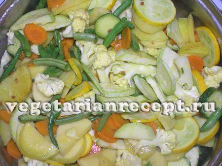 Овощи для сабджи