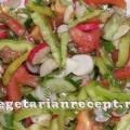 Витаминный салат с топинамбуром
