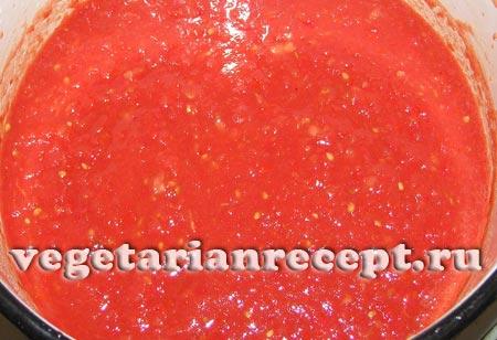Томатная масса для соуса