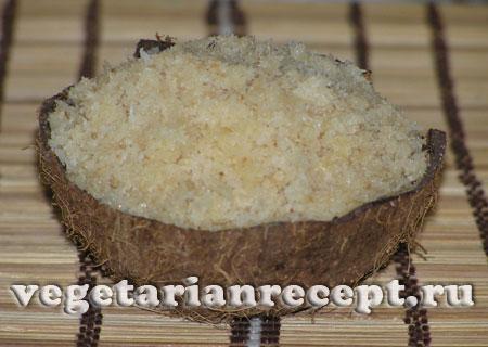 Халава из кокосовой стружки