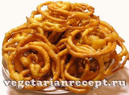 Индийские ведические сладости – джалеби