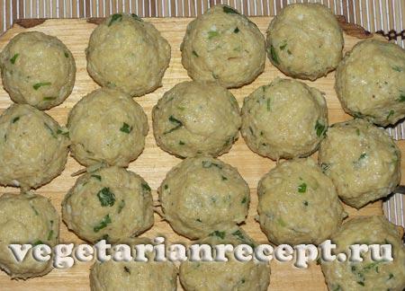 Приготовление индийской овощной закуски