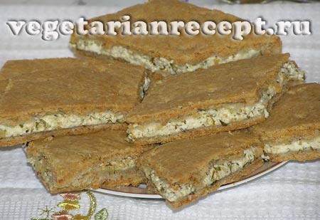 Песочный пирог - рецепт и фото