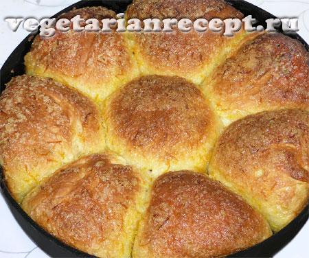 Апельсиновые булочки готовы