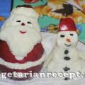 Съедобный Дед Мороз и Снеговик своими руками