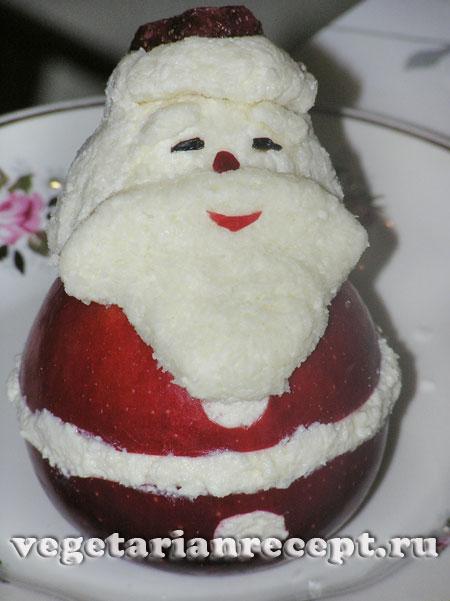 Дед Мороз для новогоднего стола готов