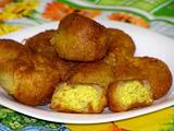 Картофельные шарики на Новый год