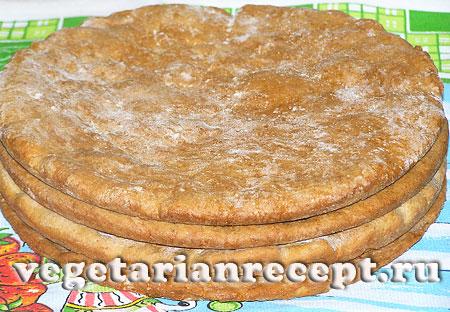 Коржи для вегетарианского торта (фото)