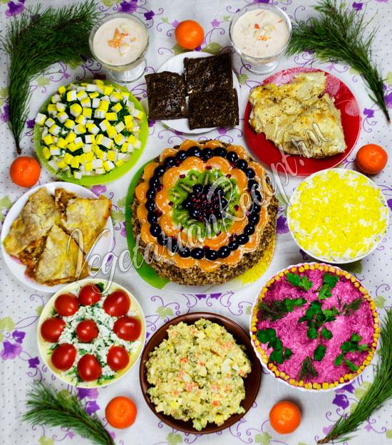 Вегетарианские рецепты на Новый год