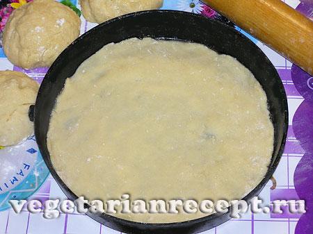 Приготовление коржей для вегетарианского торта (фото)