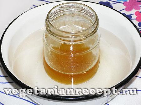 Растапливание меда (фото)