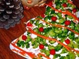 Салат с брокколи на Новый год