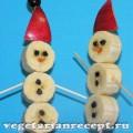 Как сделать снеговиков своими руками для детского новогоднего стола