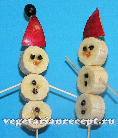 Новогодние снеговики готовы