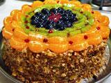 Торт с фруктами рецепт