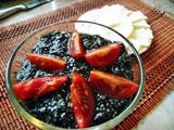 Веганская черная икра из семян чиа