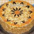 Вегетарианский торт без яиц Аленушка (фото)