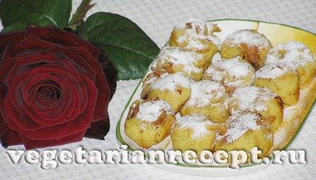 Банановые пакоры или жареные бананы в кляре
