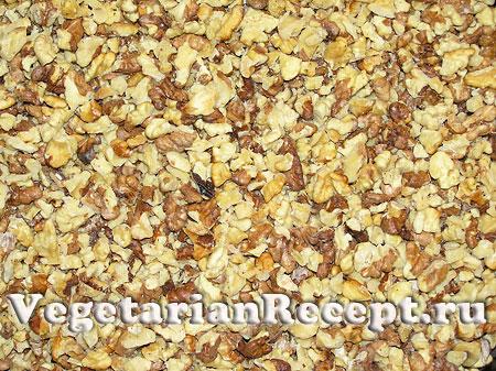Грецкие орехи для торта (фото)