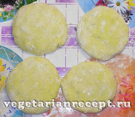 Сформированные зразы с сыром (фото)
