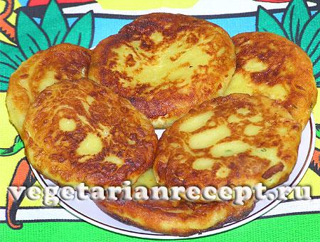 Картофельные зразы с сыром (фото)