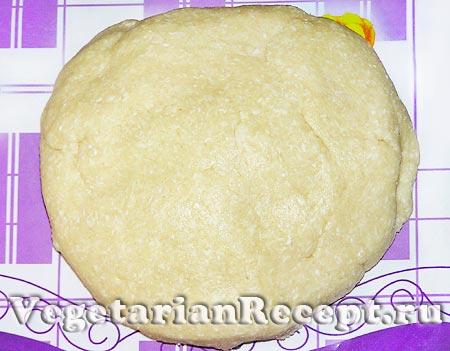 Кокосовое печенье. Тесто (фото)
