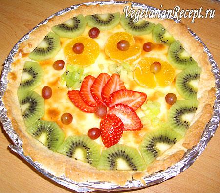 Корзинка с фруктами (фото)