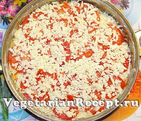 Приготовление вегетарианской лазаньи (фото)