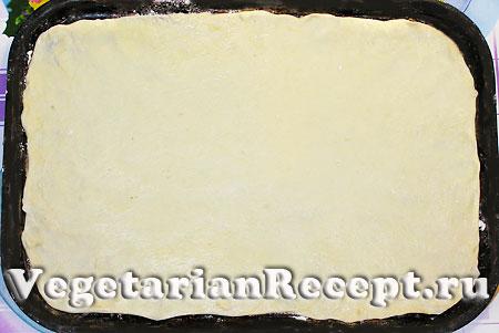 Торт Наполеон. Приготовление коржей (фото)