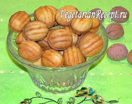 Орешки со сгущенкой (фото)
