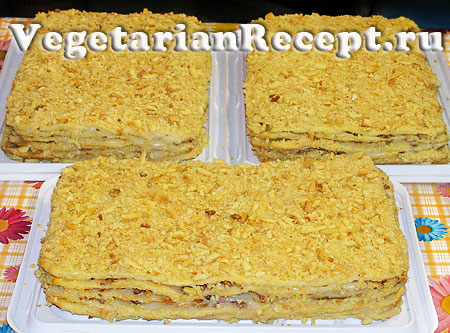 Торт наполеон - пошаговый фото рецепт