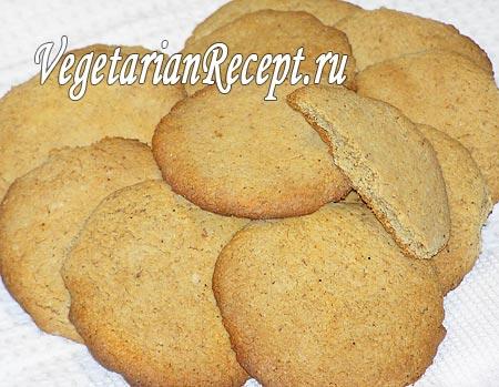 вкусное печенье без яиц рецепт с фото