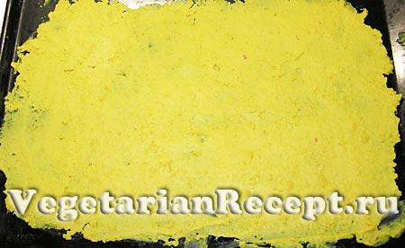 Приготовление блюда из гороховой муки (фото)