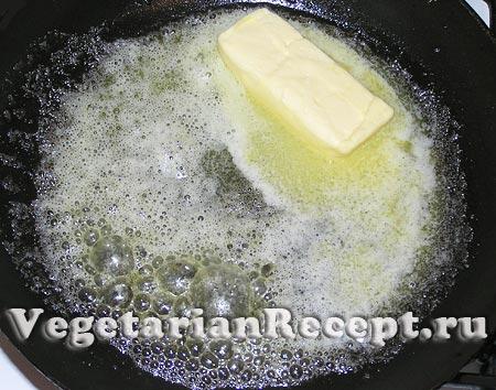 Растопленное сливочное масло (фото)