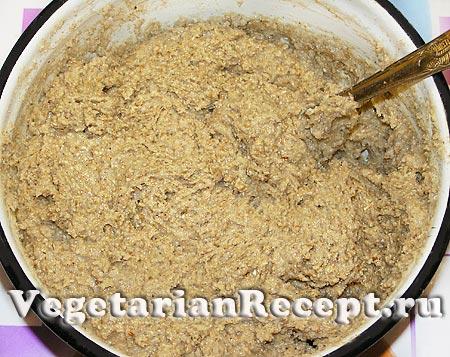 Тесто для овсяного печенья из хлопьев (фото)