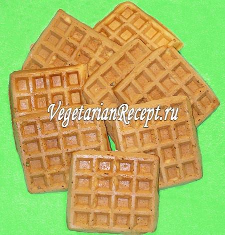 Толстые бельгийские вафли (фото)