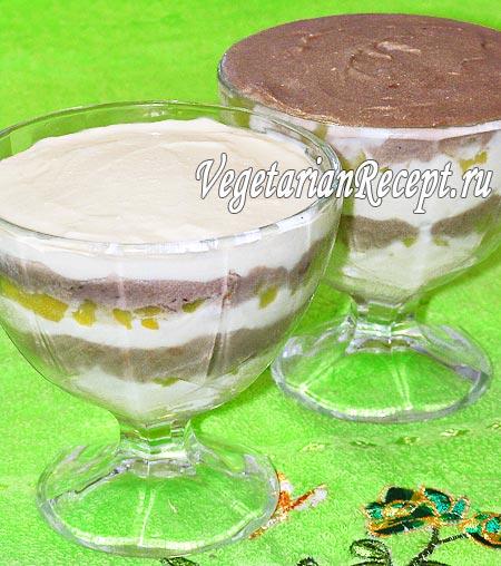 Мороженое из творога и сгущенки без яиц (фото-рецепт)