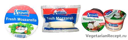 Вегетарианский сыр Добрыня