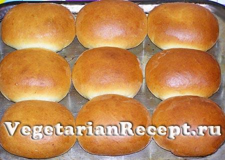 Постные пироги с капустой готовы (фото)