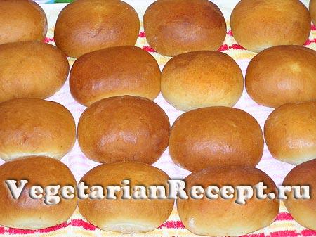 Постные печеные пирожки (фото)
