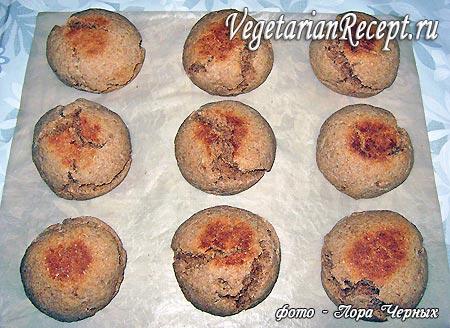 Хлеб на кефире с отрубями и без дрожжей (фото)