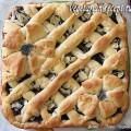 Открытый пирог с повидлом (фото)