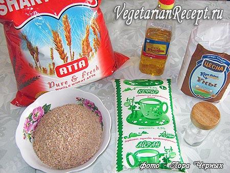 Продукты для выпечки хлеба на кефире, без дрожжей
