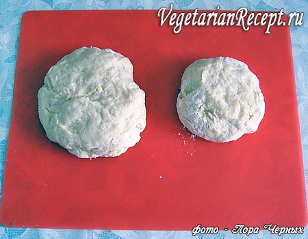 Тесто для открытого пирога с повидлом