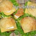 Вегетарианские гамбургеры (фото)