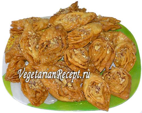 пахлава индийская рецепт с фото