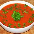 Холодный суп гаспачо с арбузом. Фото-рецепт.